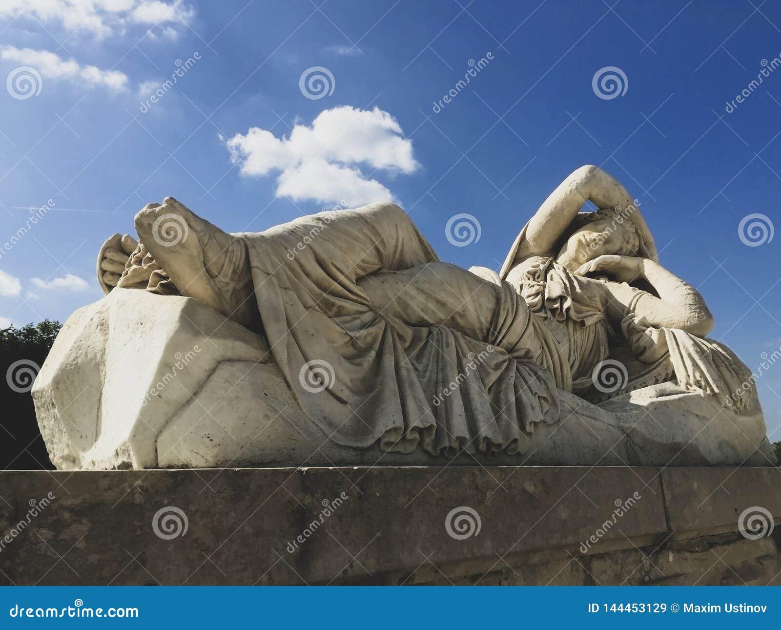 Statue dans les jardins de Versailles