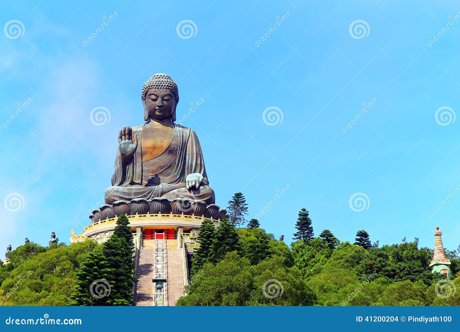 Statue de Bouddha bronzage tian, Hong Kong