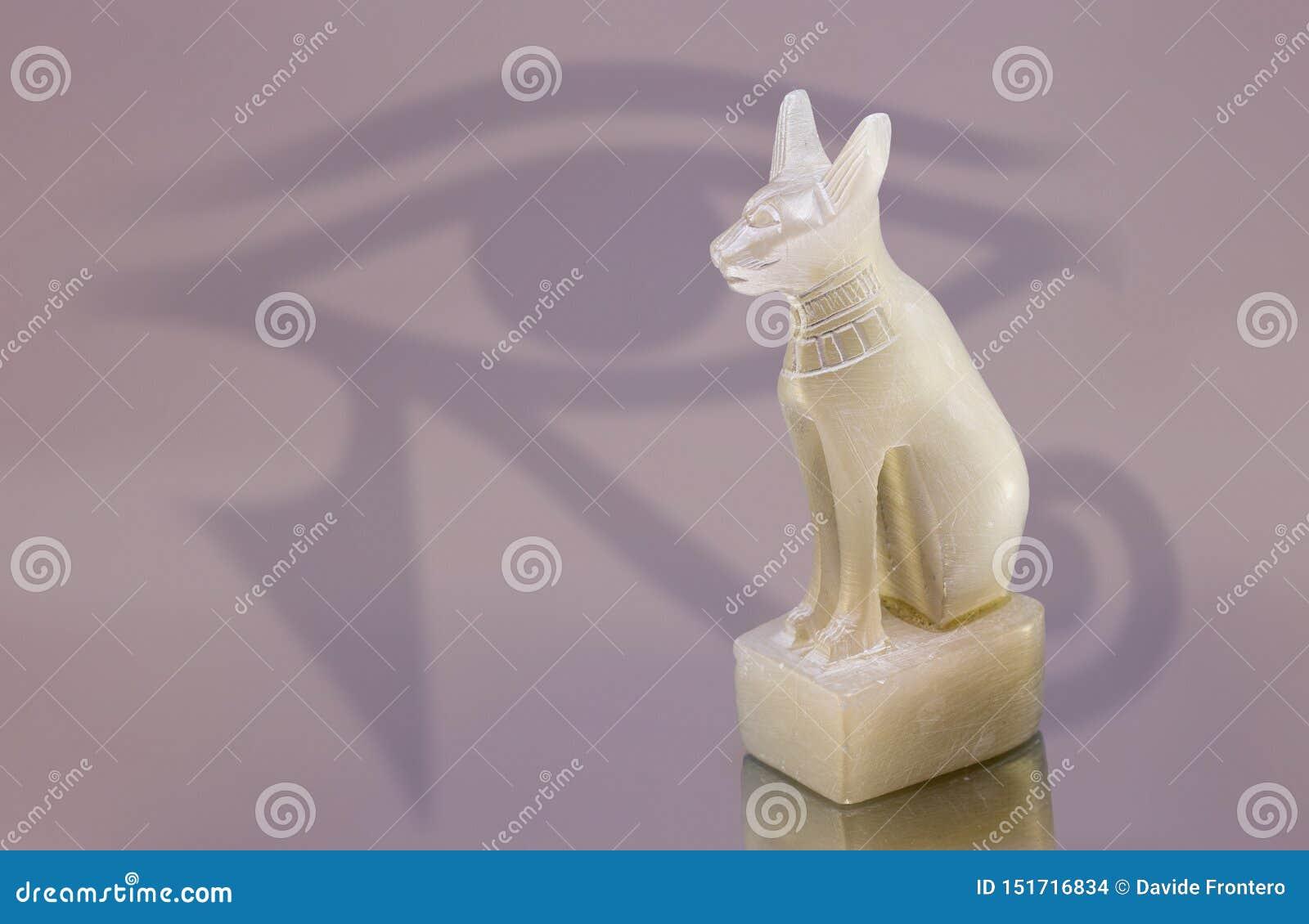 Statue de chat ?gyptien