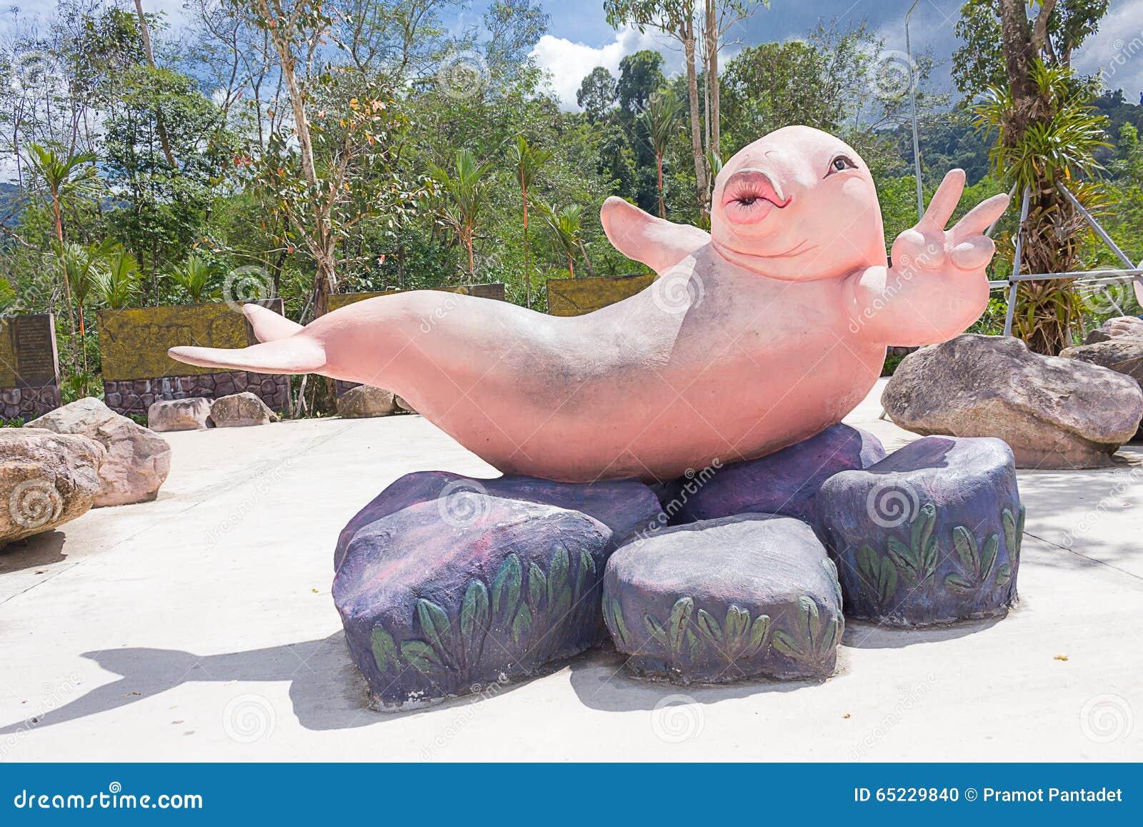 Statue de Dugongs