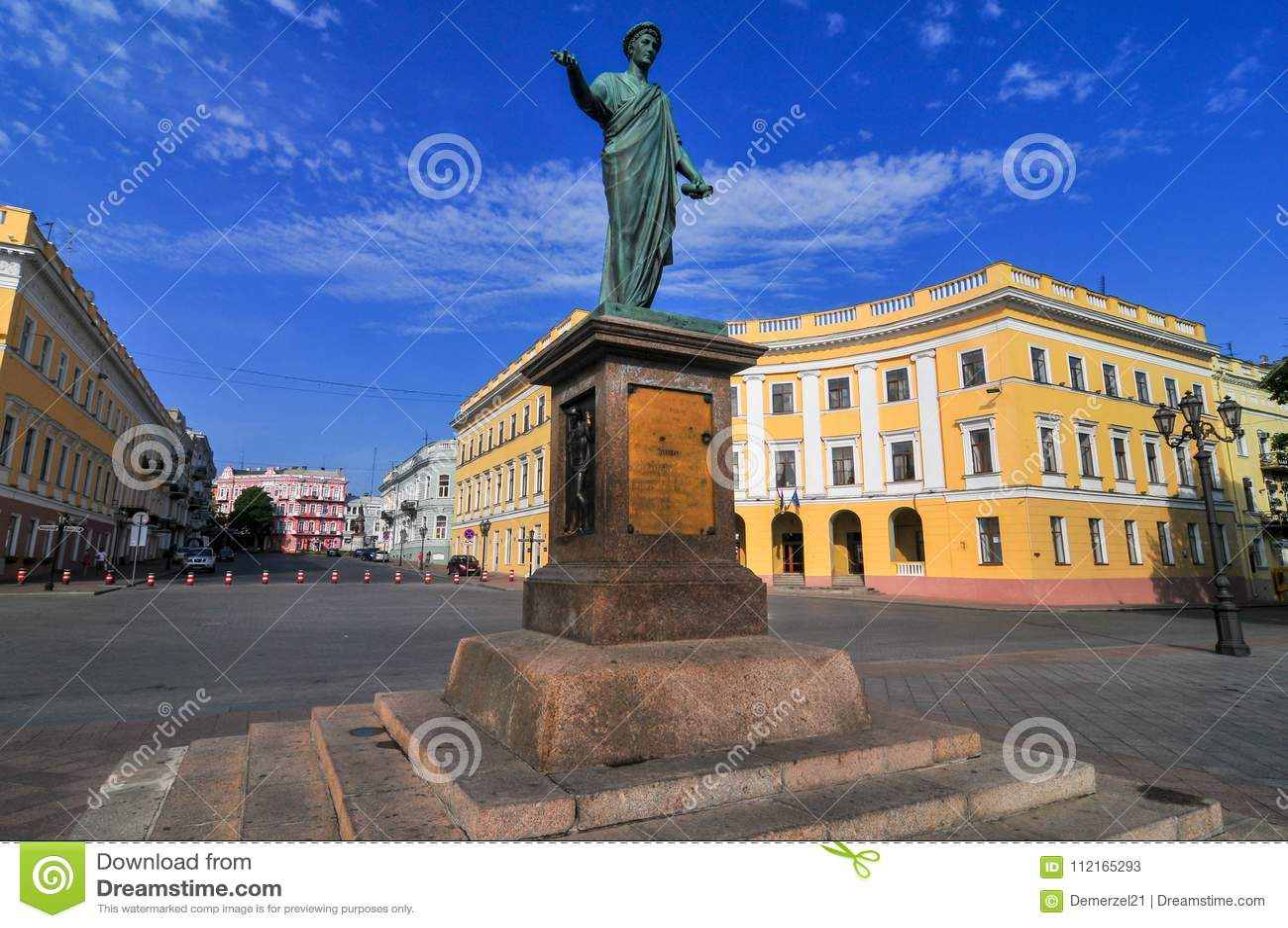 Statue de Duke Richelieu - Odessa, Ukraine