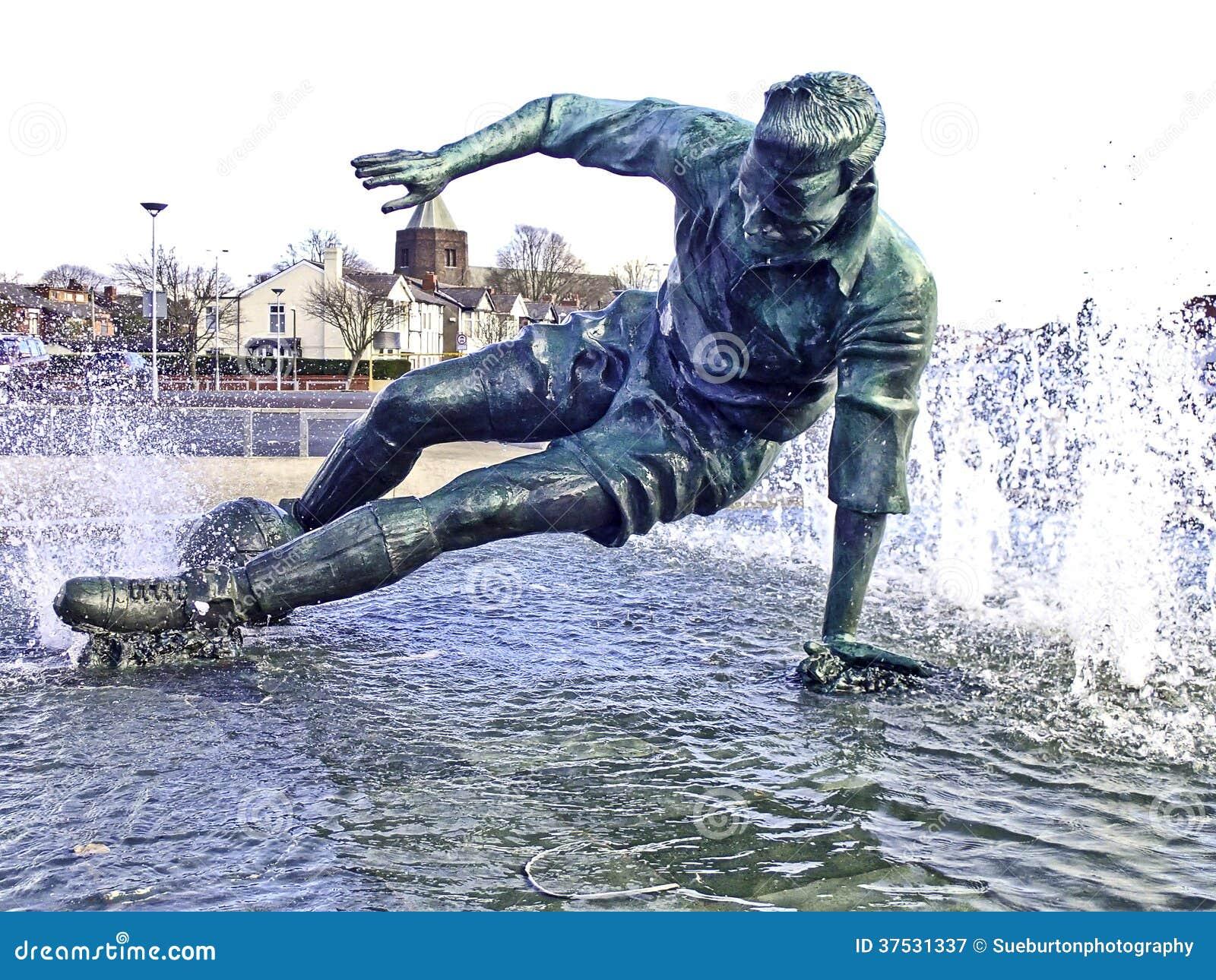 Statue de finney de monsieur Tom