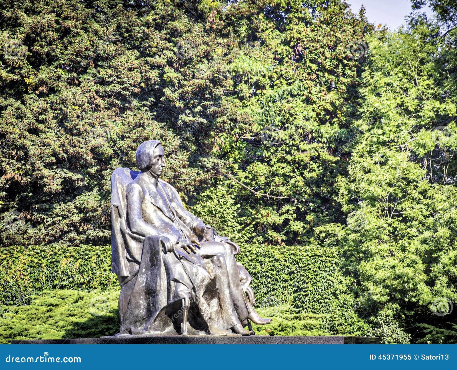 Statue de Frederic Chopin