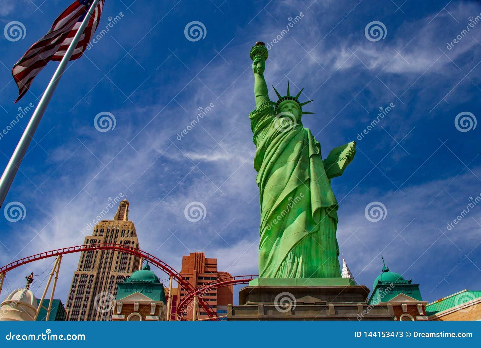 Statue de Las Vegas de la libert?