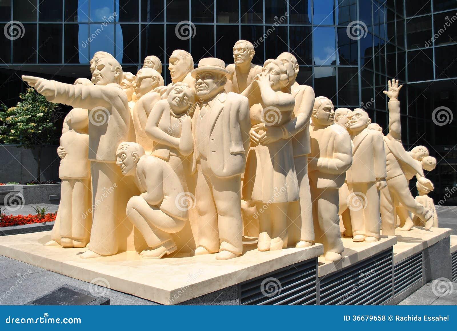 Statue de Montréal