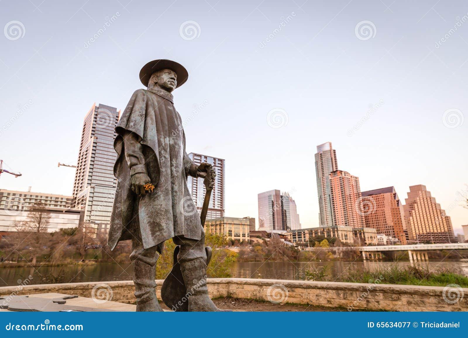 Statue de Stevie Ray Vaughan