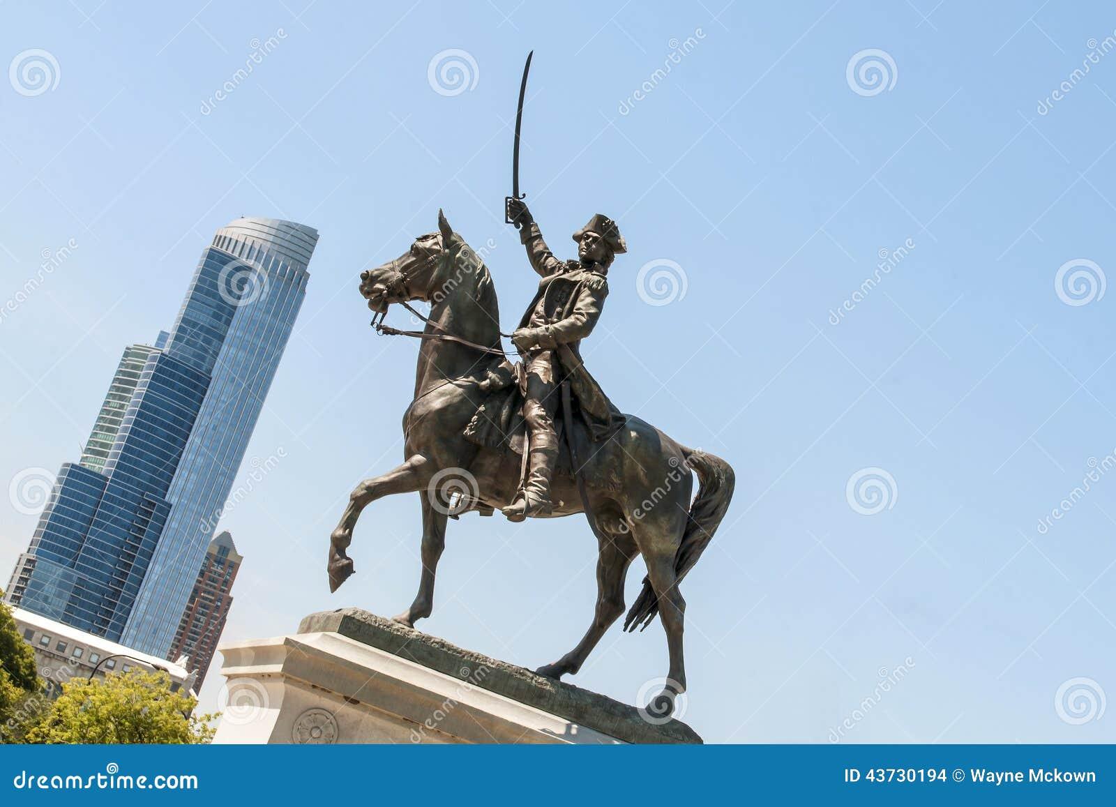 Statue de Tadeusz Kosciuszko