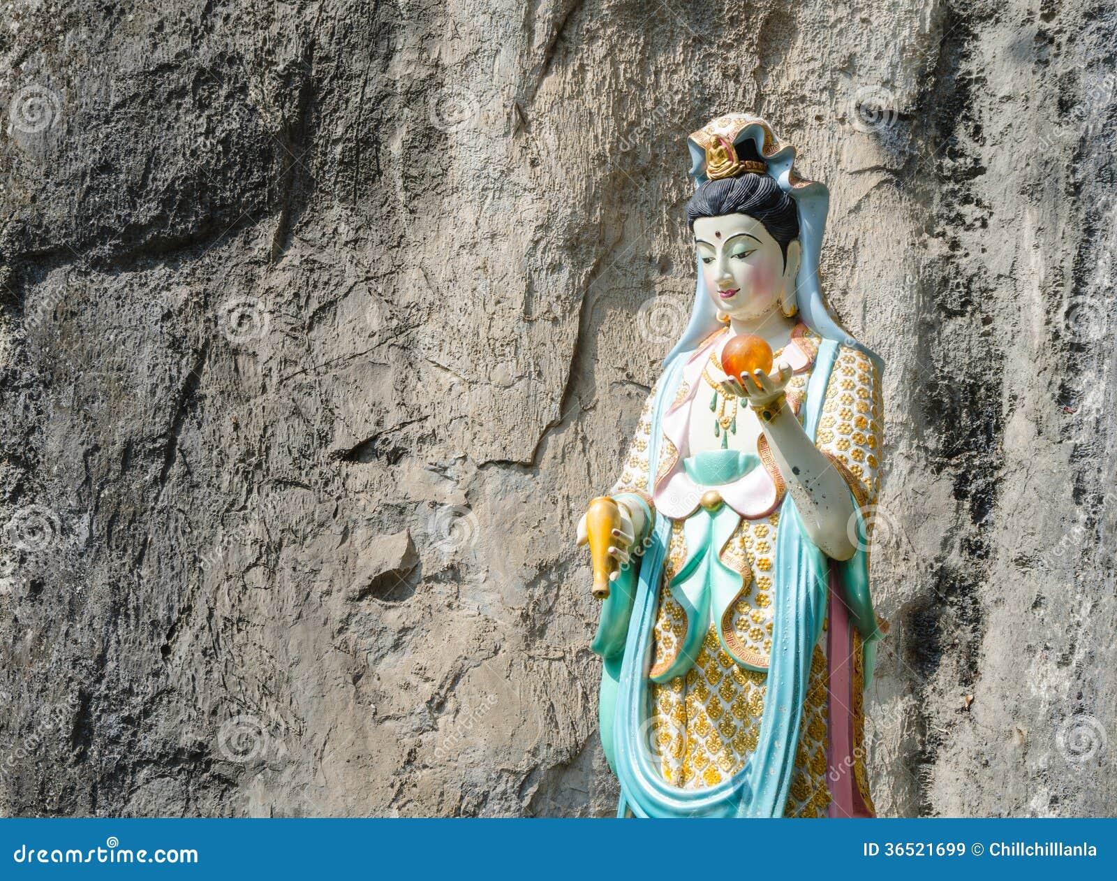 Statue de yin de Guan