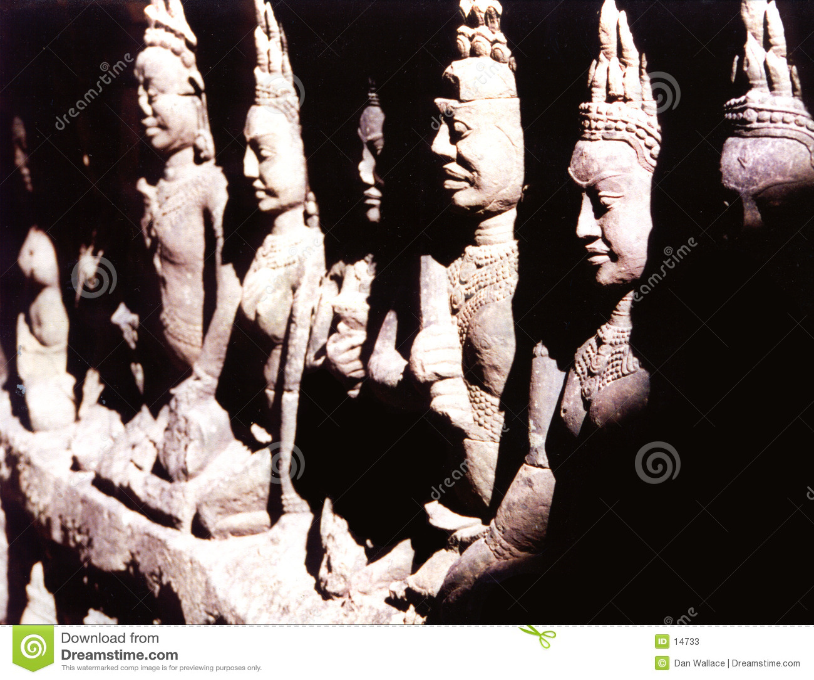 Statue di Buddah