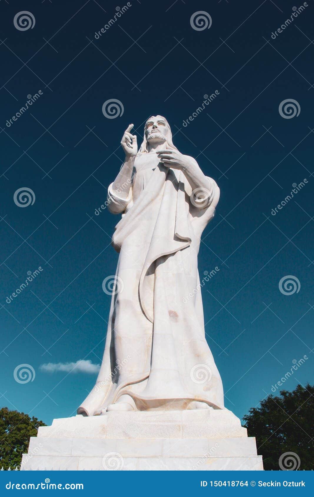Statue du Christ ? La Havane, Cuba