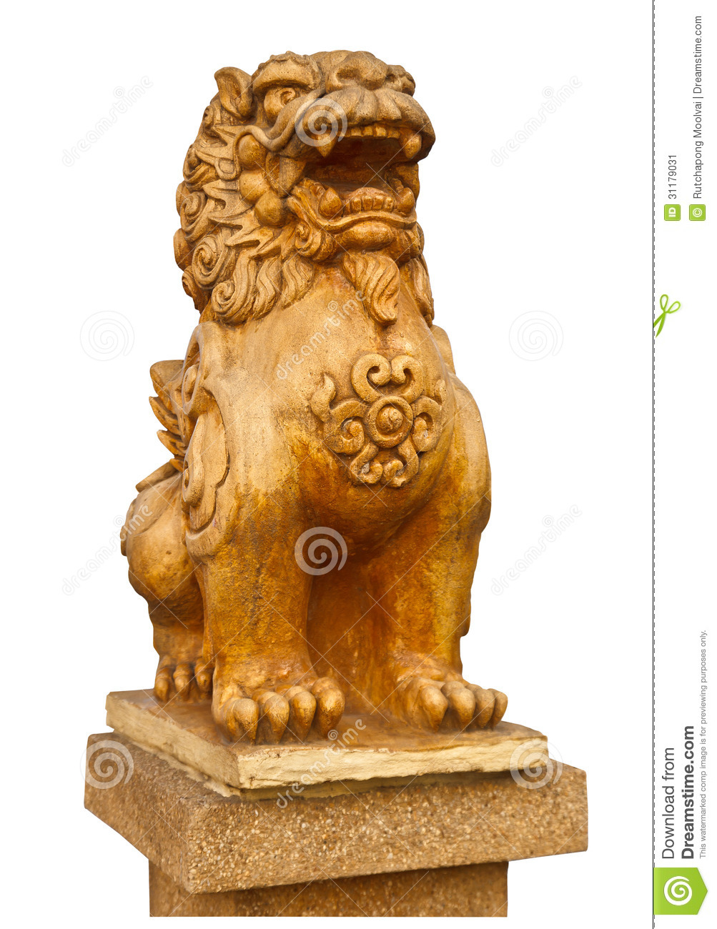 statue en pierre chinoise de lion le symbole de la puissance pour le chinois image stock image. Black Bedroom Furniture Sets. Home Design Ideas