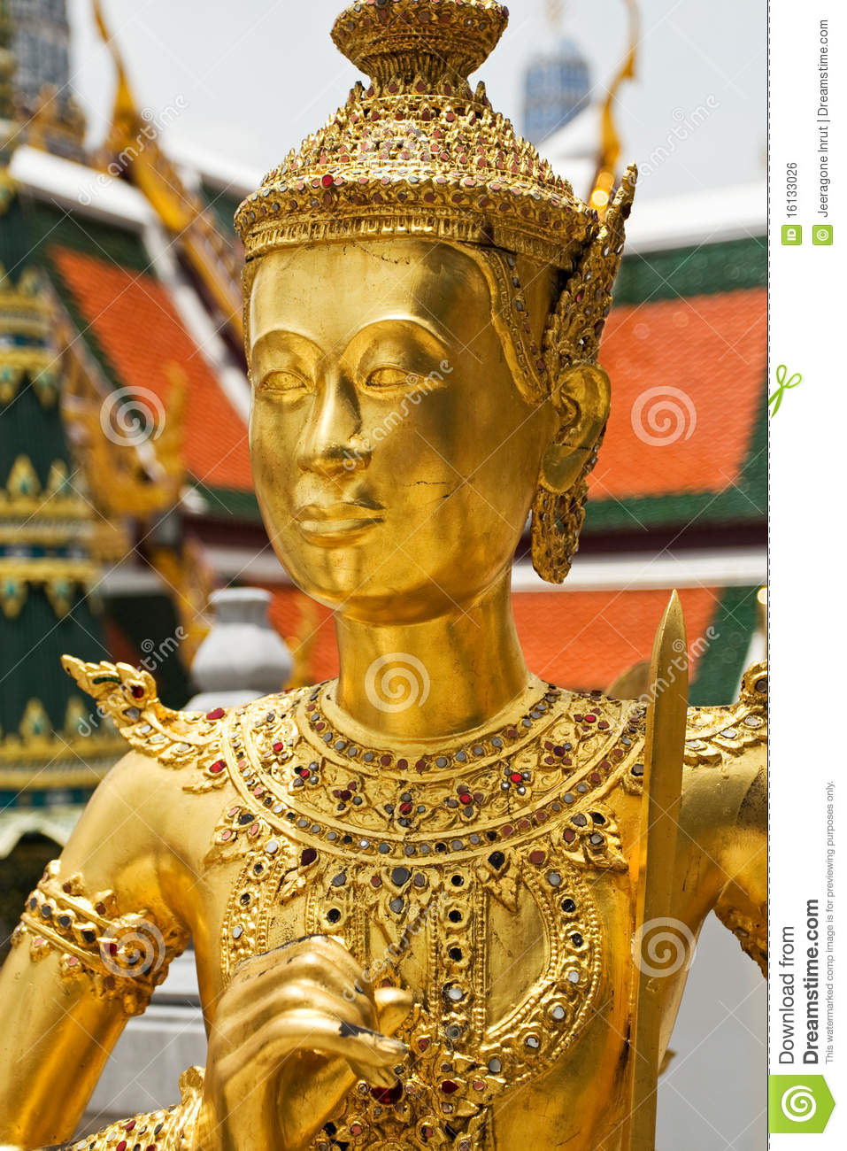 Statue In Grand Palace Royalty Free Stock Image - Image ...