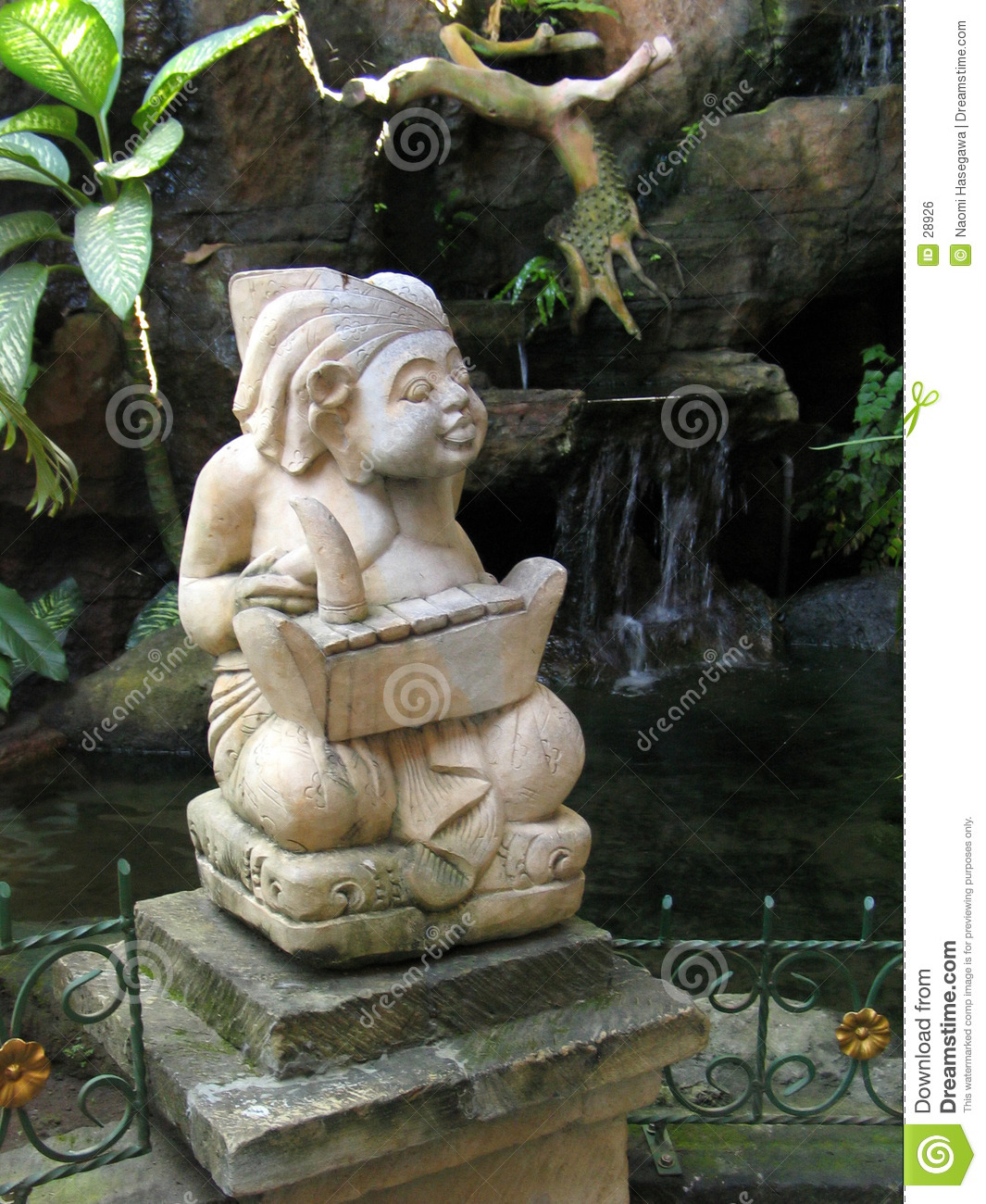 Statue indoue de Balinese