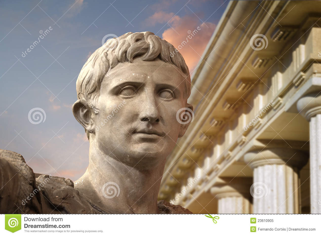 the life and times of caesar augustus After caesar's assassination but rose in the life and  so 76 was a very old age indeed in ancient times  because augustus, like caesar before him was made a.