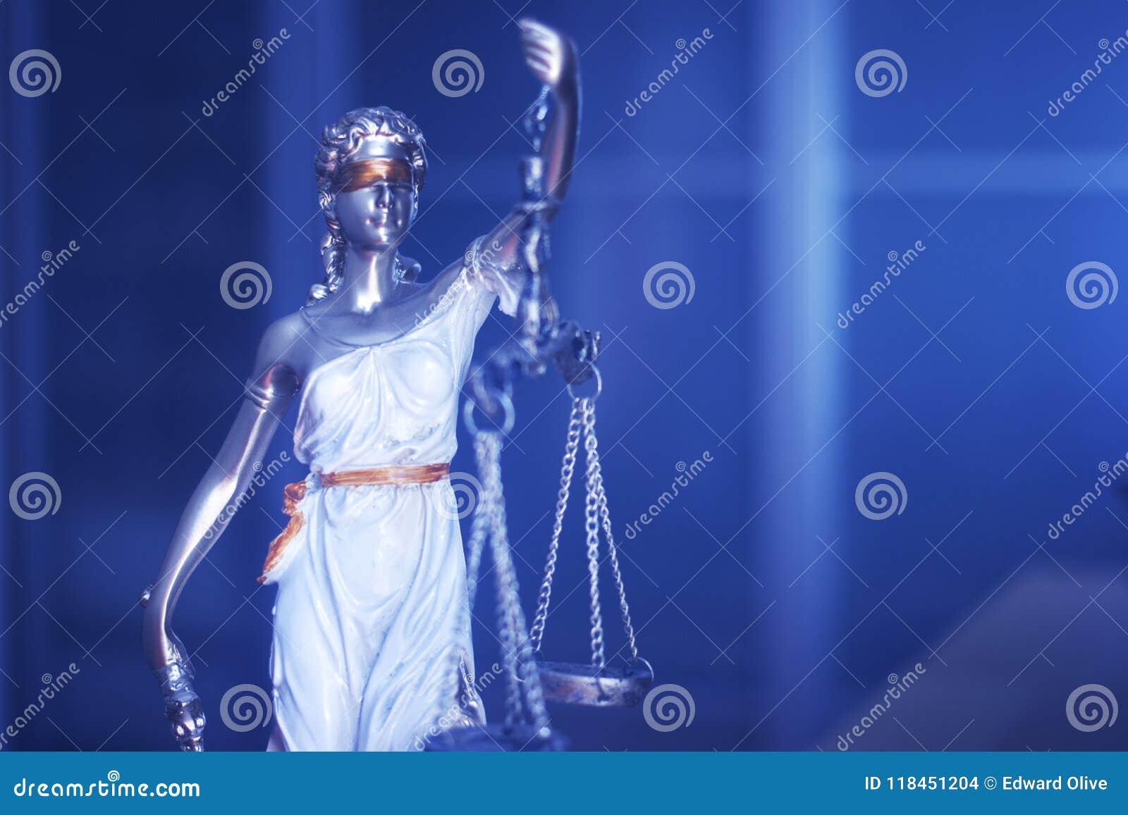 Statue juridique de justice de cabinet juridique