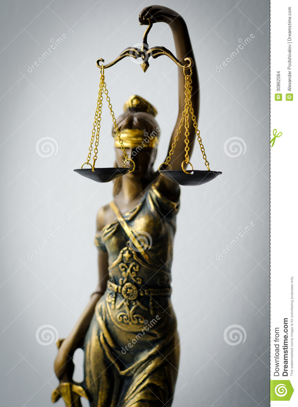 Statue Of Justice Stock Images - Image: 30862084