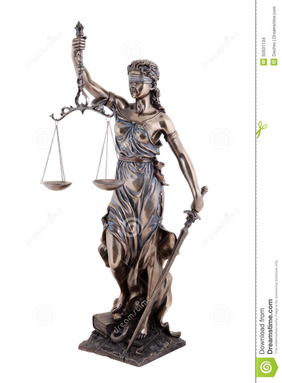 Statue Of Justice Themis Mythological Greek Goddess