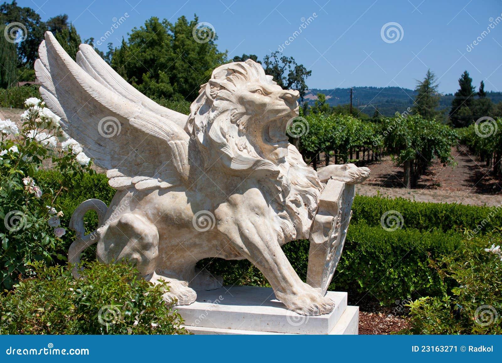Statue of leo