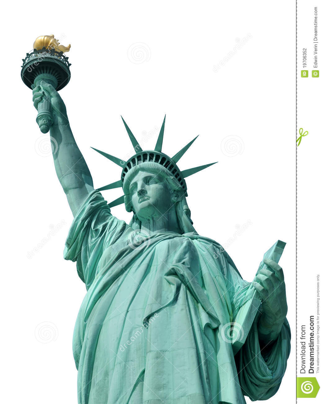 Statue Of Liberty Stock Photography - Image: 19706352