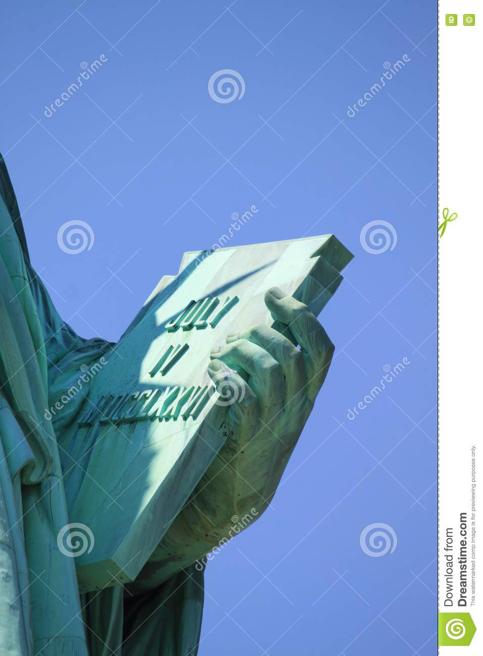 Statue Of Liberty Book Stock Photo - Image: 73743174