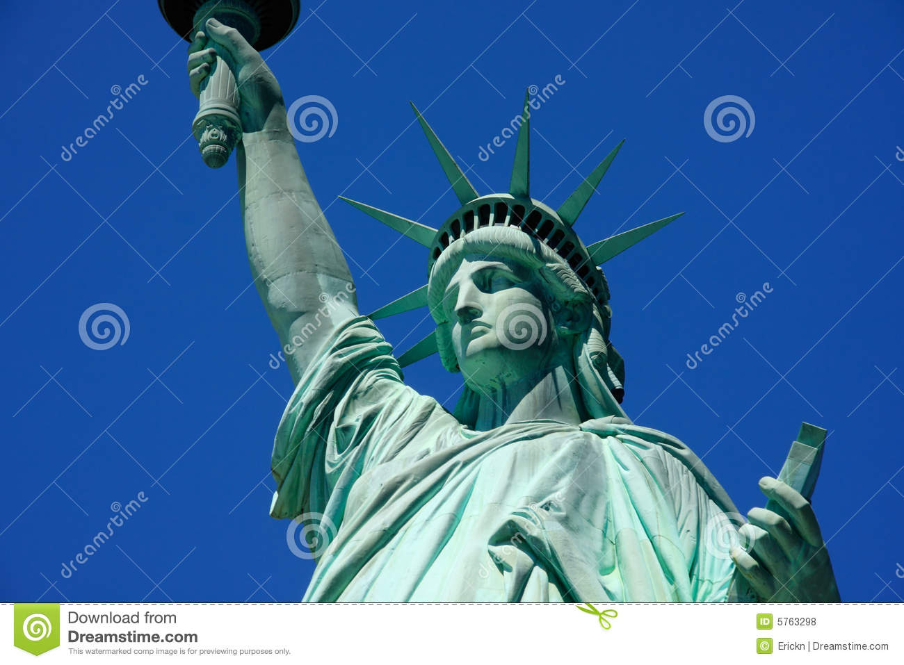 Statue Of Liberty Close-up Royalty Free Stock Photos - Image: 5763298