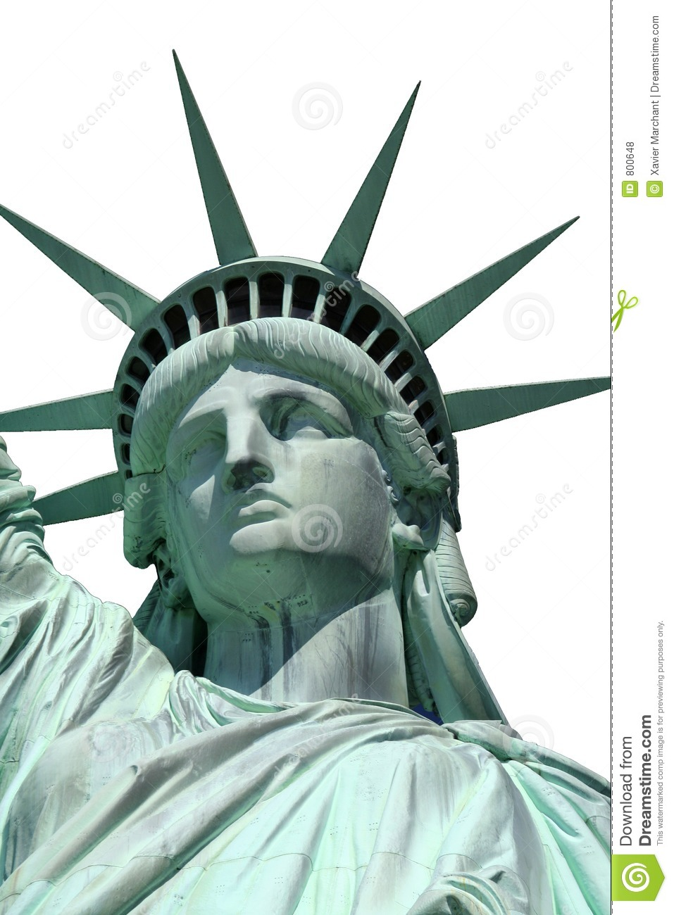 7253610f9b762 Statue Of Liberty Head Isolated Stock Photo - Image of liberty, face ...