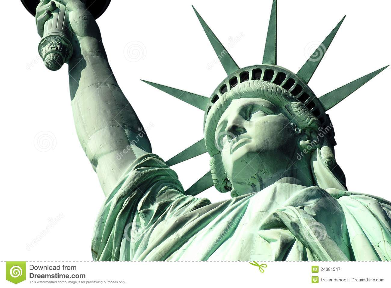 Statue Of Liberty Crown Clip Art