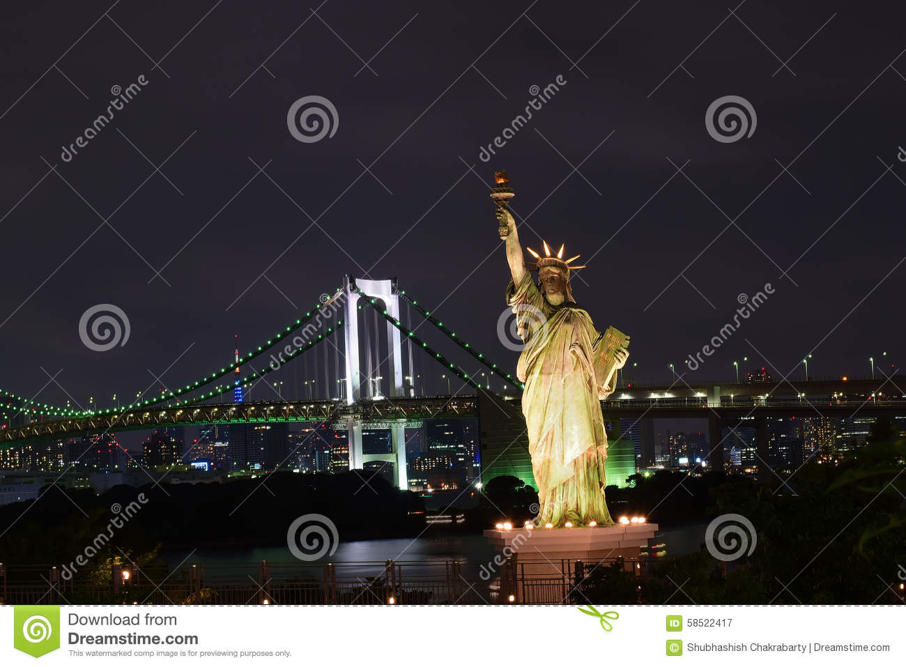 how to say statue of liberty in japanese