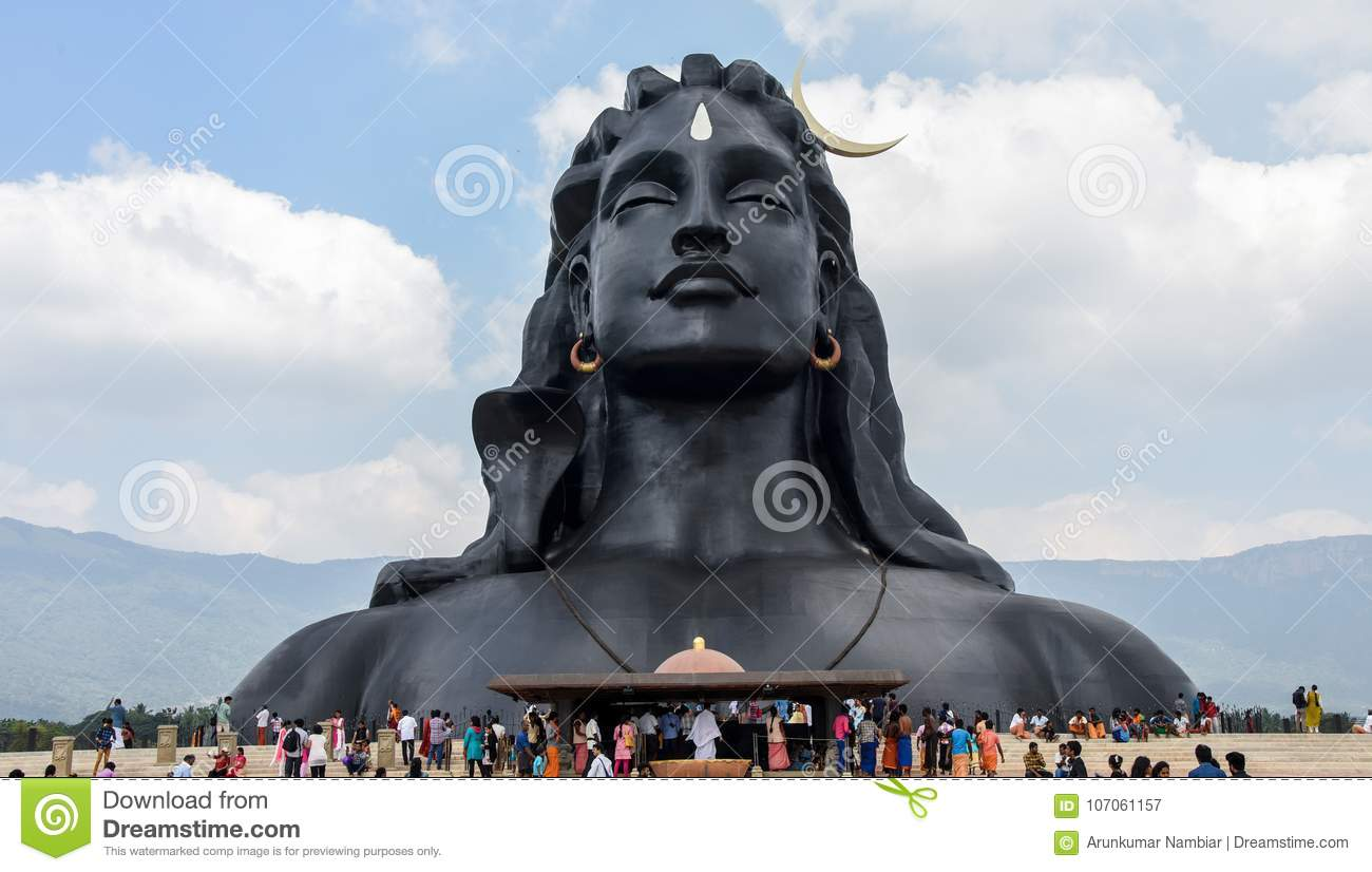 Statue of Lord Shiva editorial photography  Image of