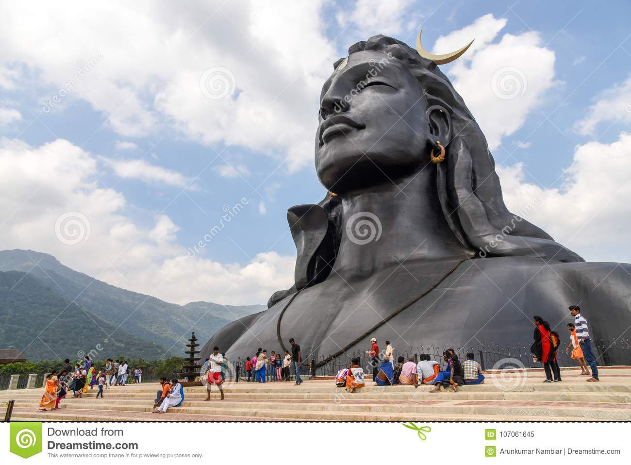 Statue of Lord Shiva editorial image  Image of science