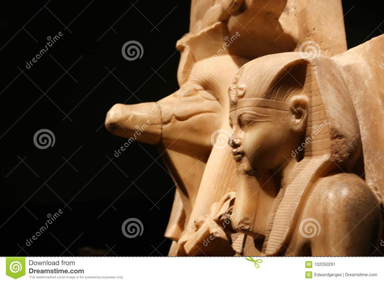 Statue at Luxor Museum - Egypt