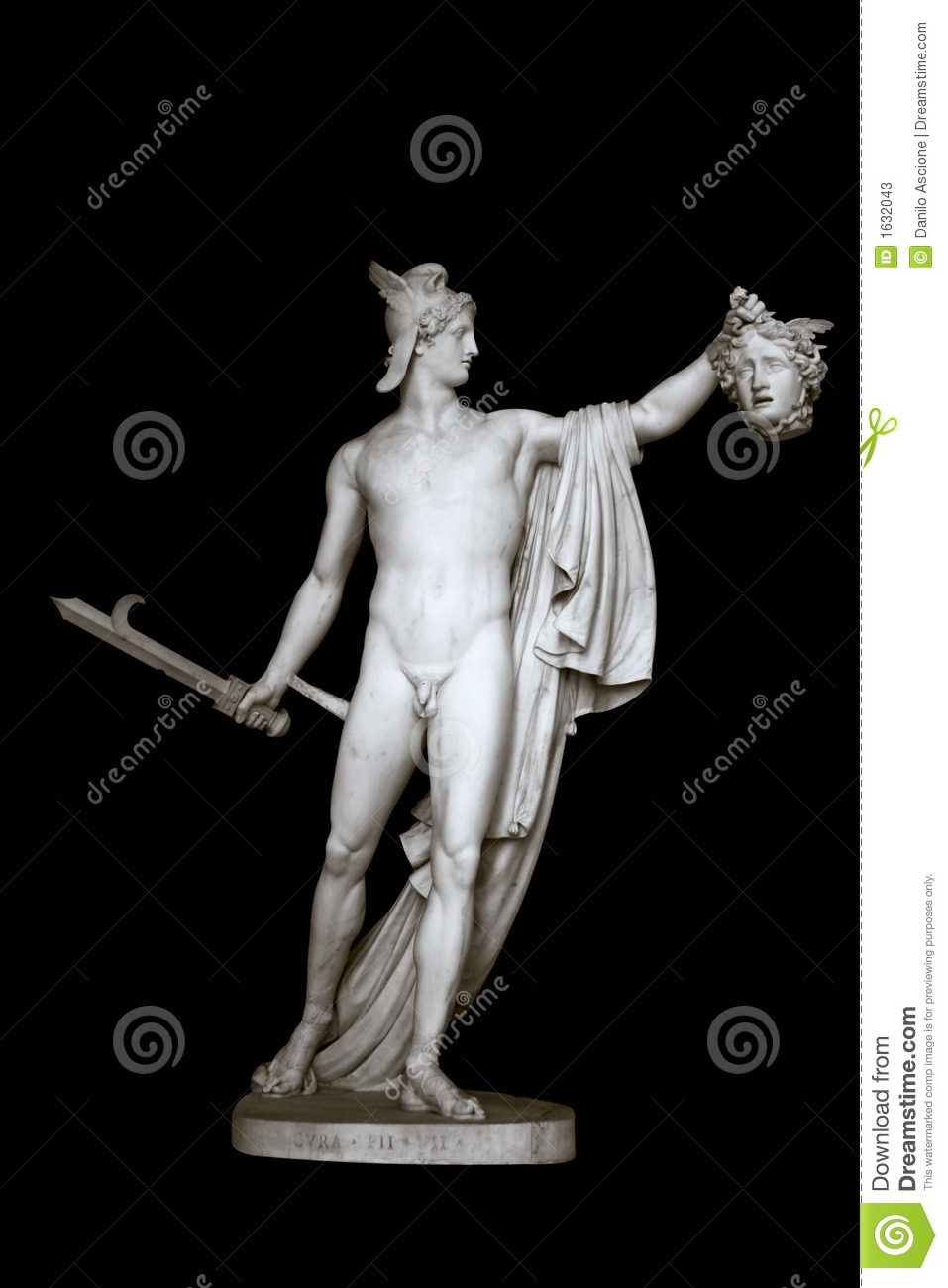 Statue of Perseus and Medusa