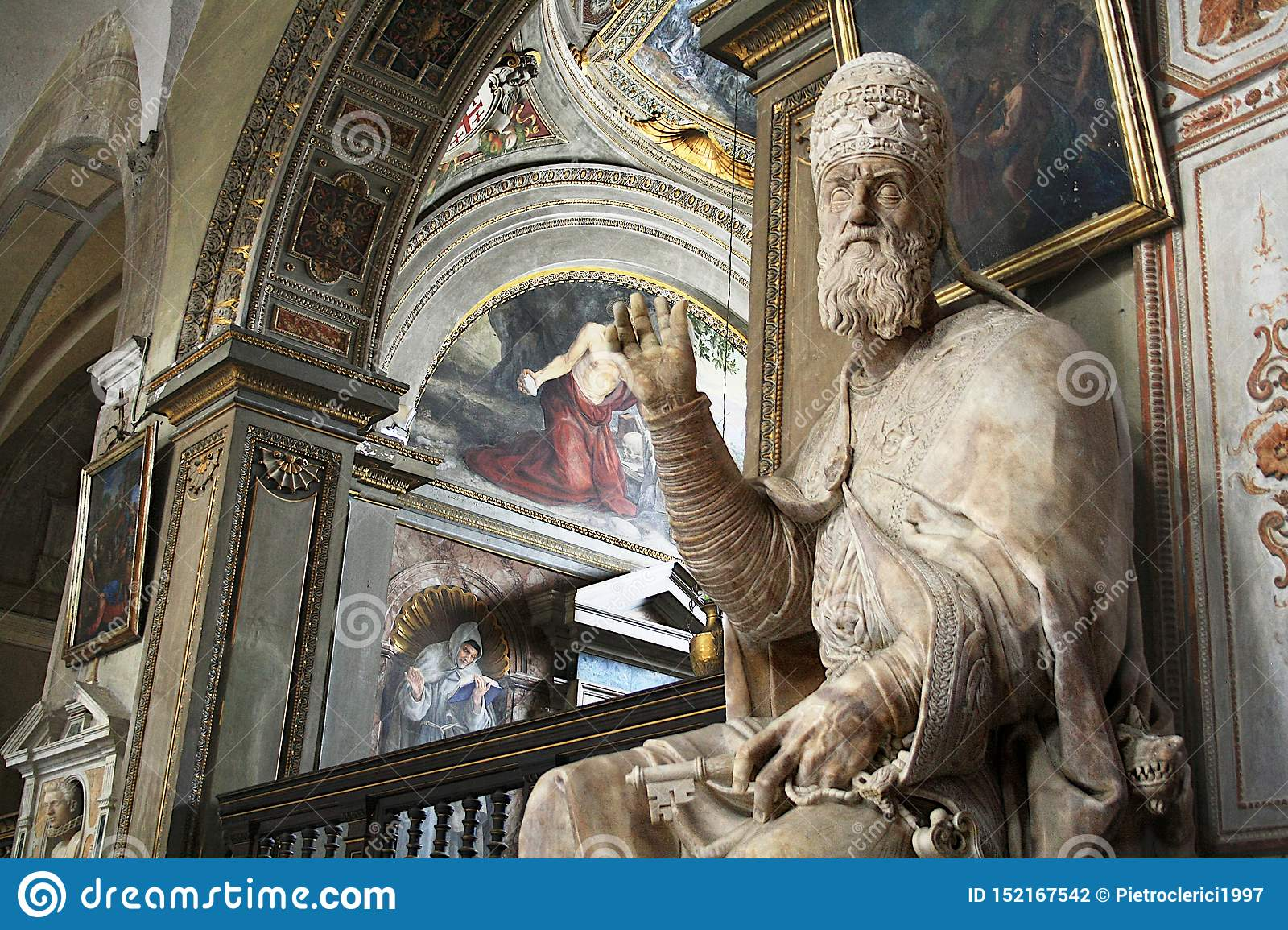 Statue of Pope Gregory XIII - Rome