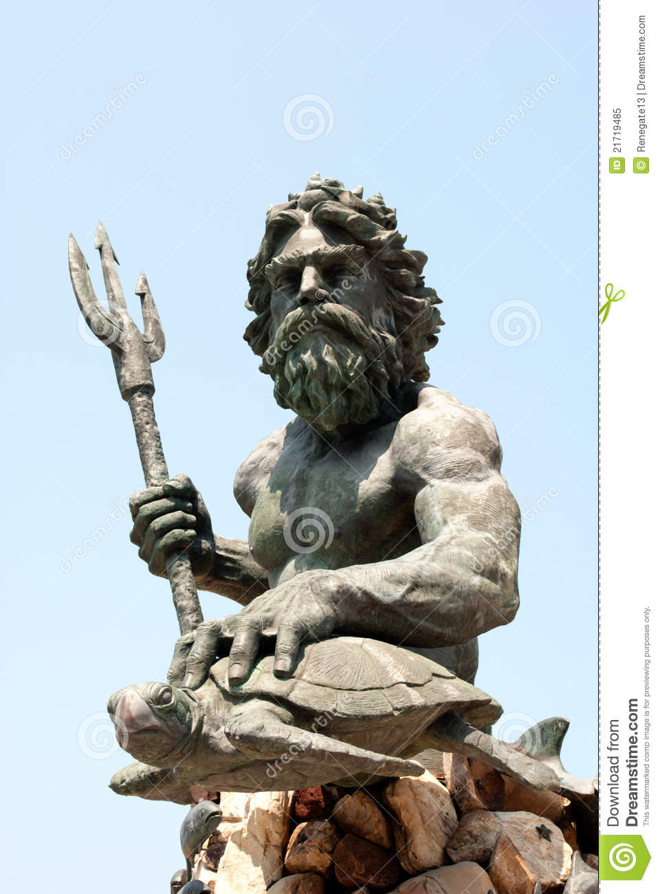 Statue of poseidon stock image image of body ancient 21719485 - Poseidon statue greece ...