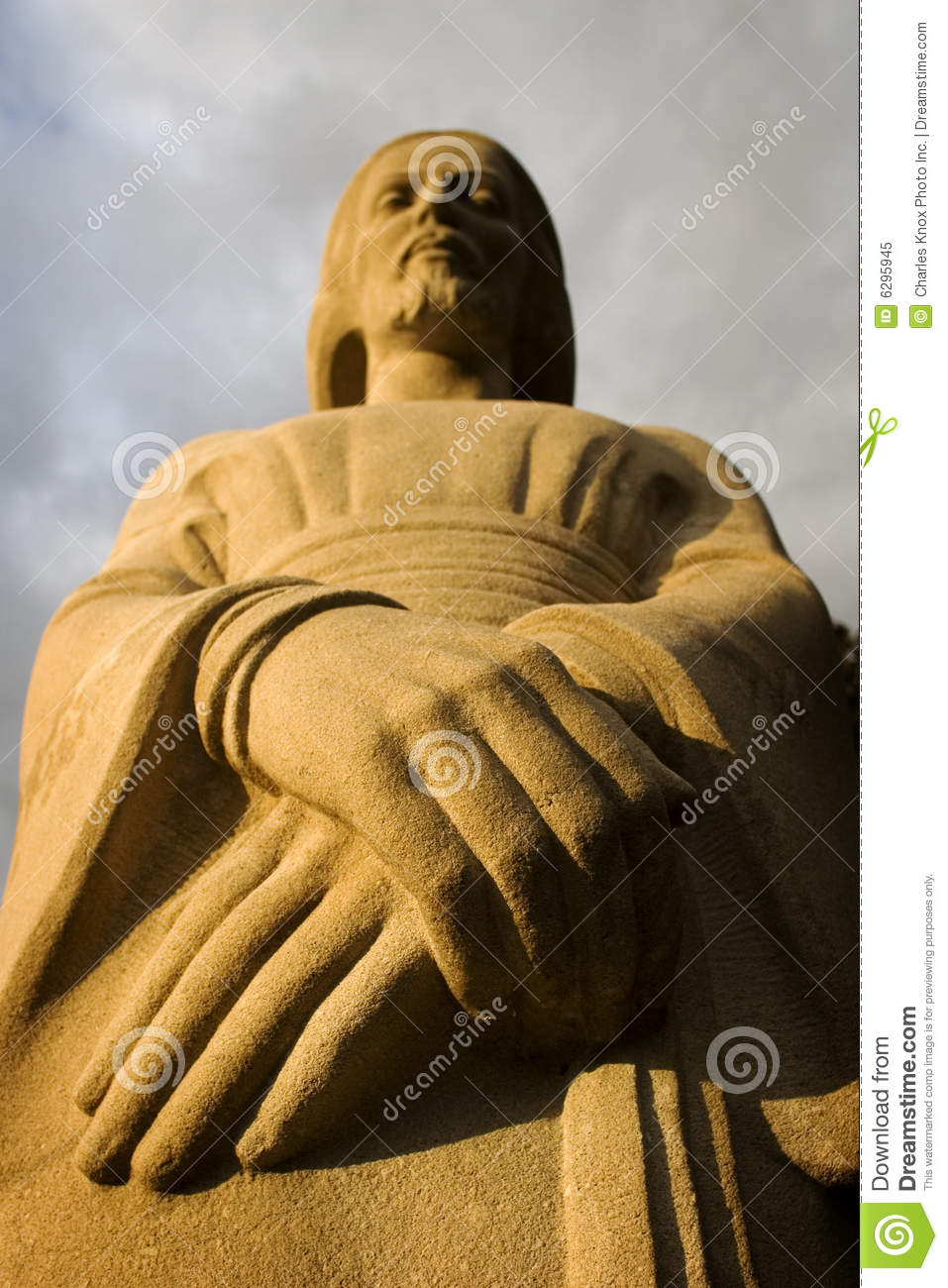 Statue Of Religious Figure Royalty Free Stock Photo - Image: 6295945