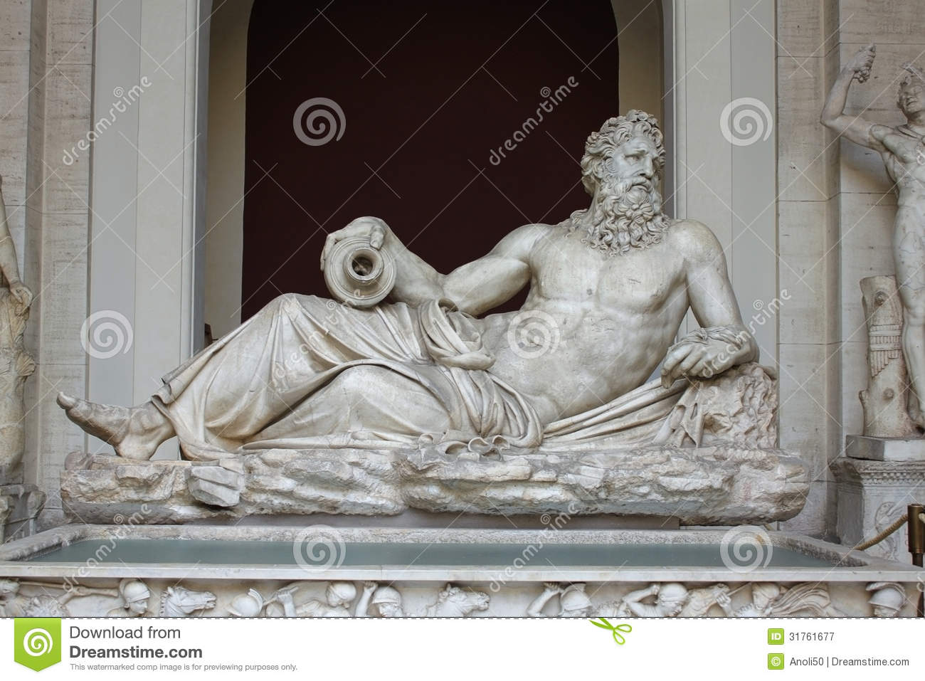 The Statue Of The River God Tigris Or Arno Royalty Free Stock Photography Image 31761677