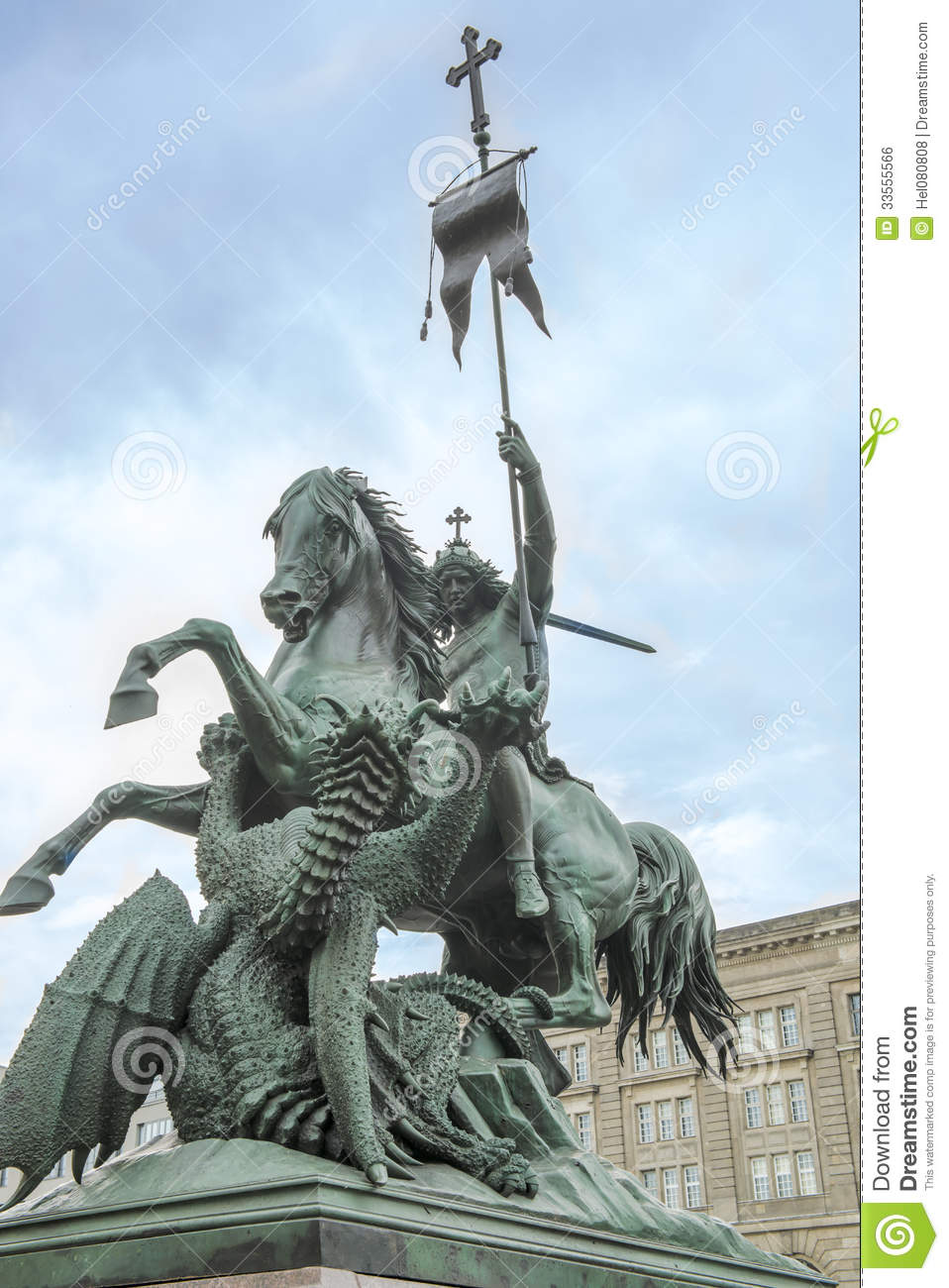 Saint george and the dragon story