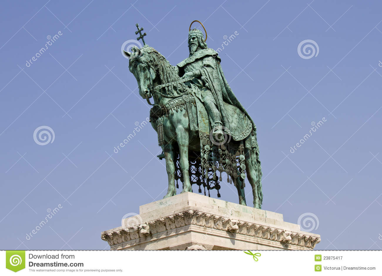 Statue of Saint Stephen I, Budapest, Hungary