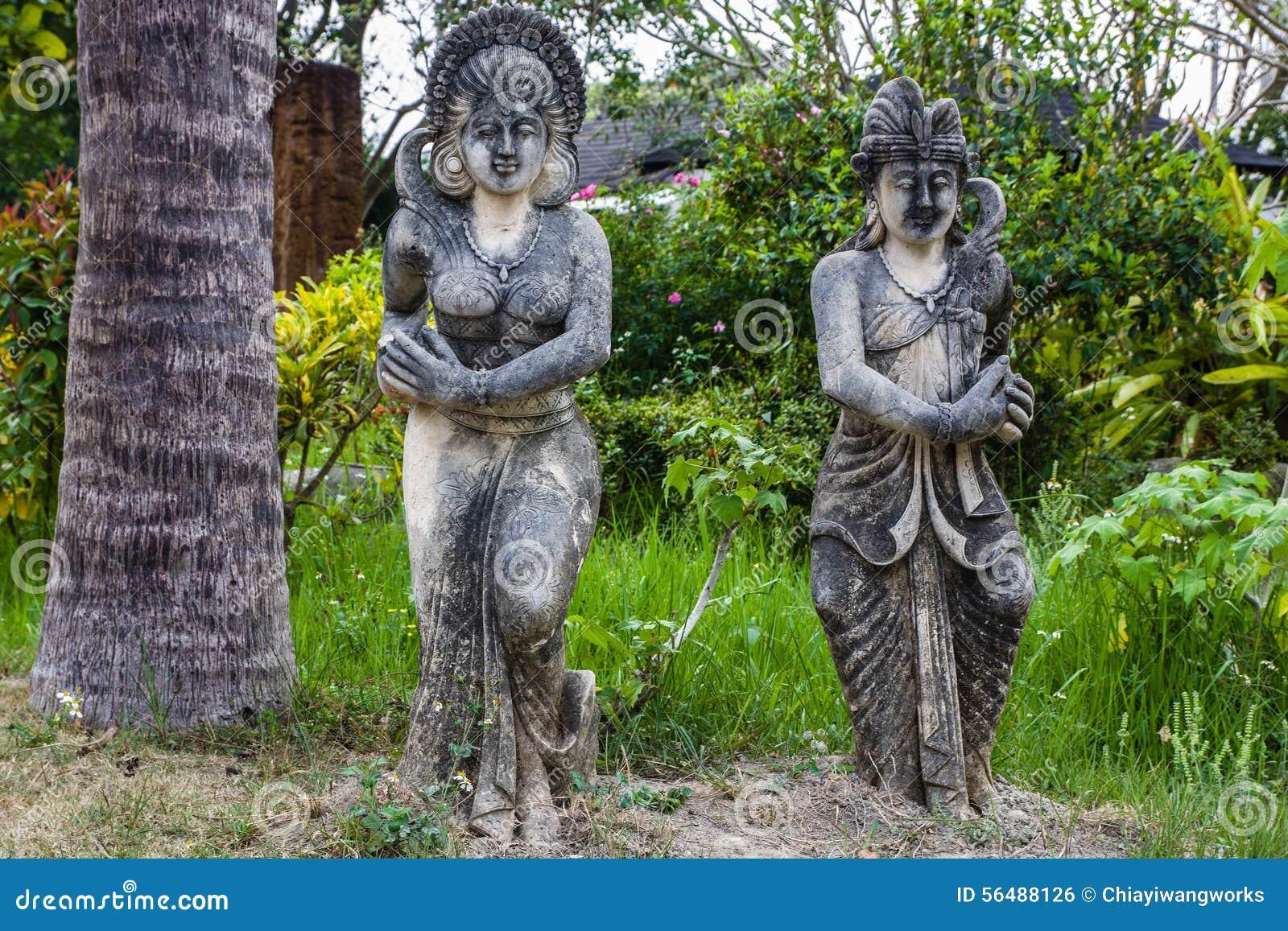 Statue traditionnelle de Bali