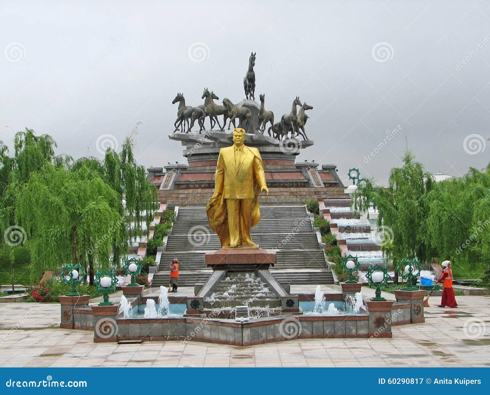 Image result for saparmurat niyazov statue