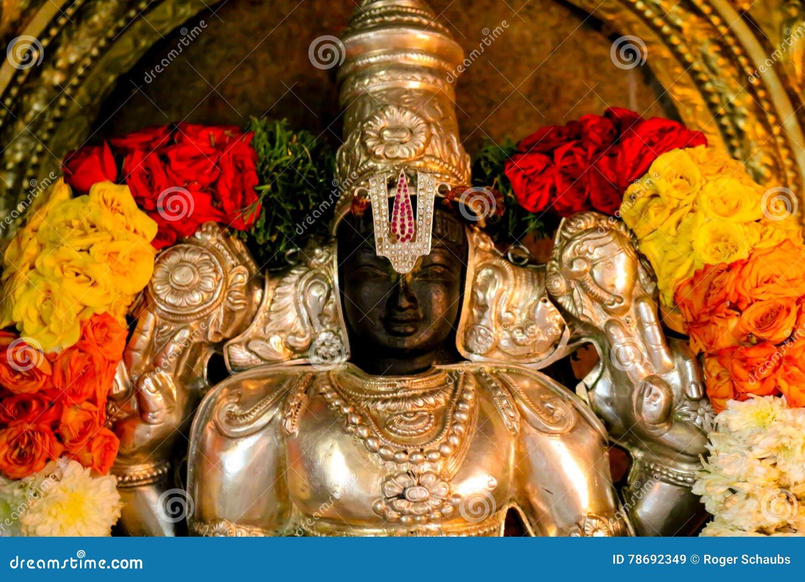 Statue Vishnu de temple hindou