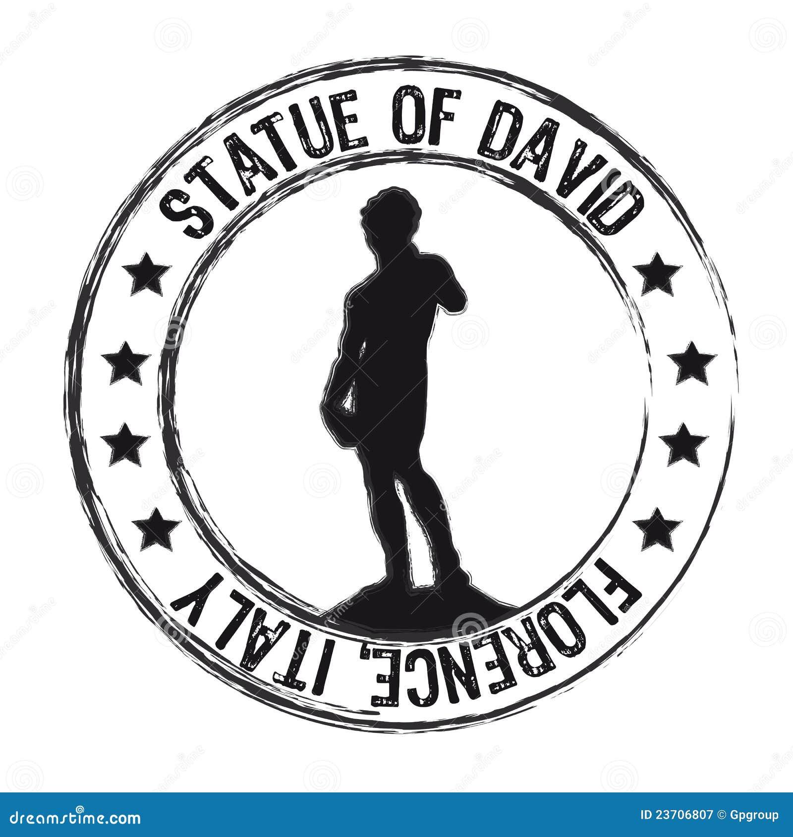 Statue von David
