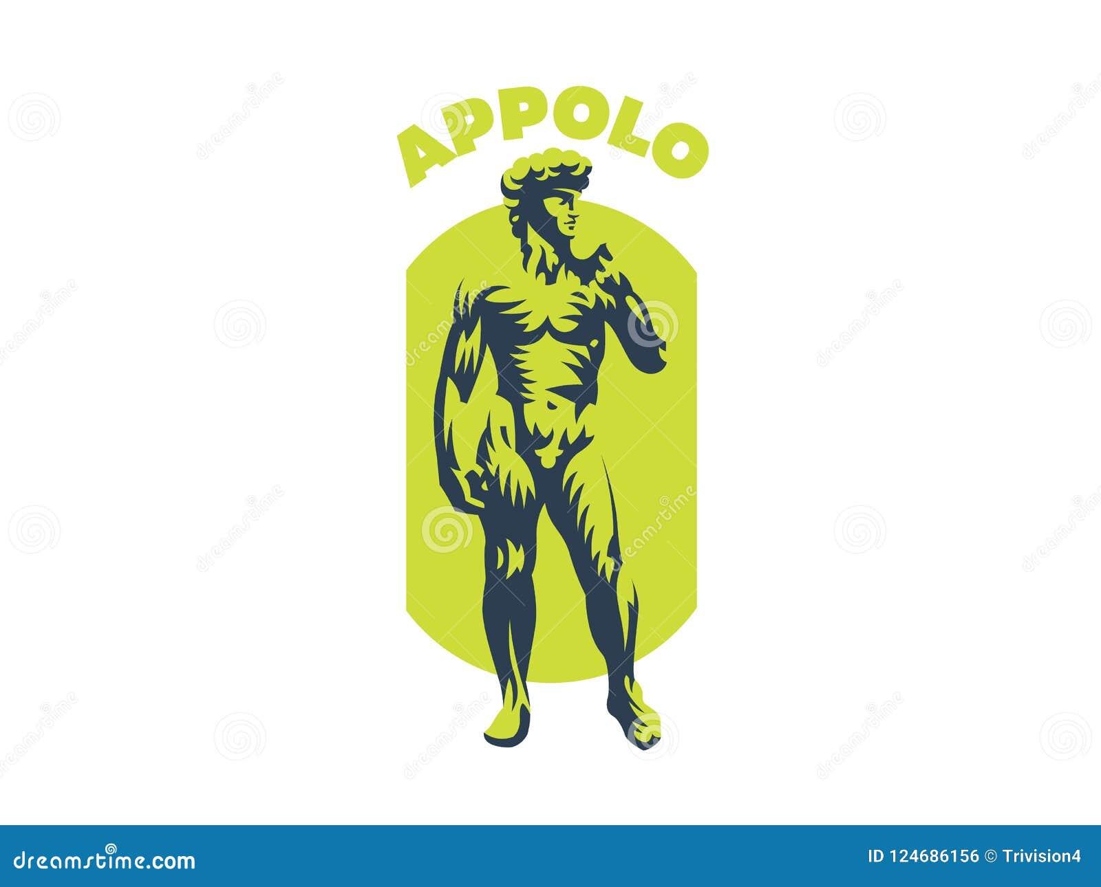 Statue von David oder von Apollo