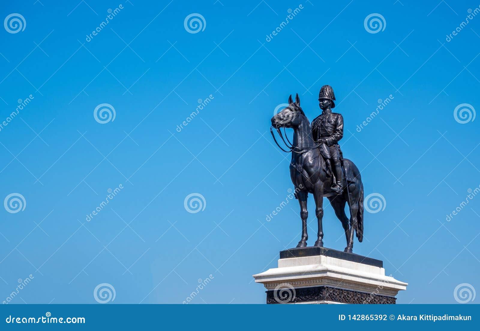 Statue von König Rama V das große von Thailand