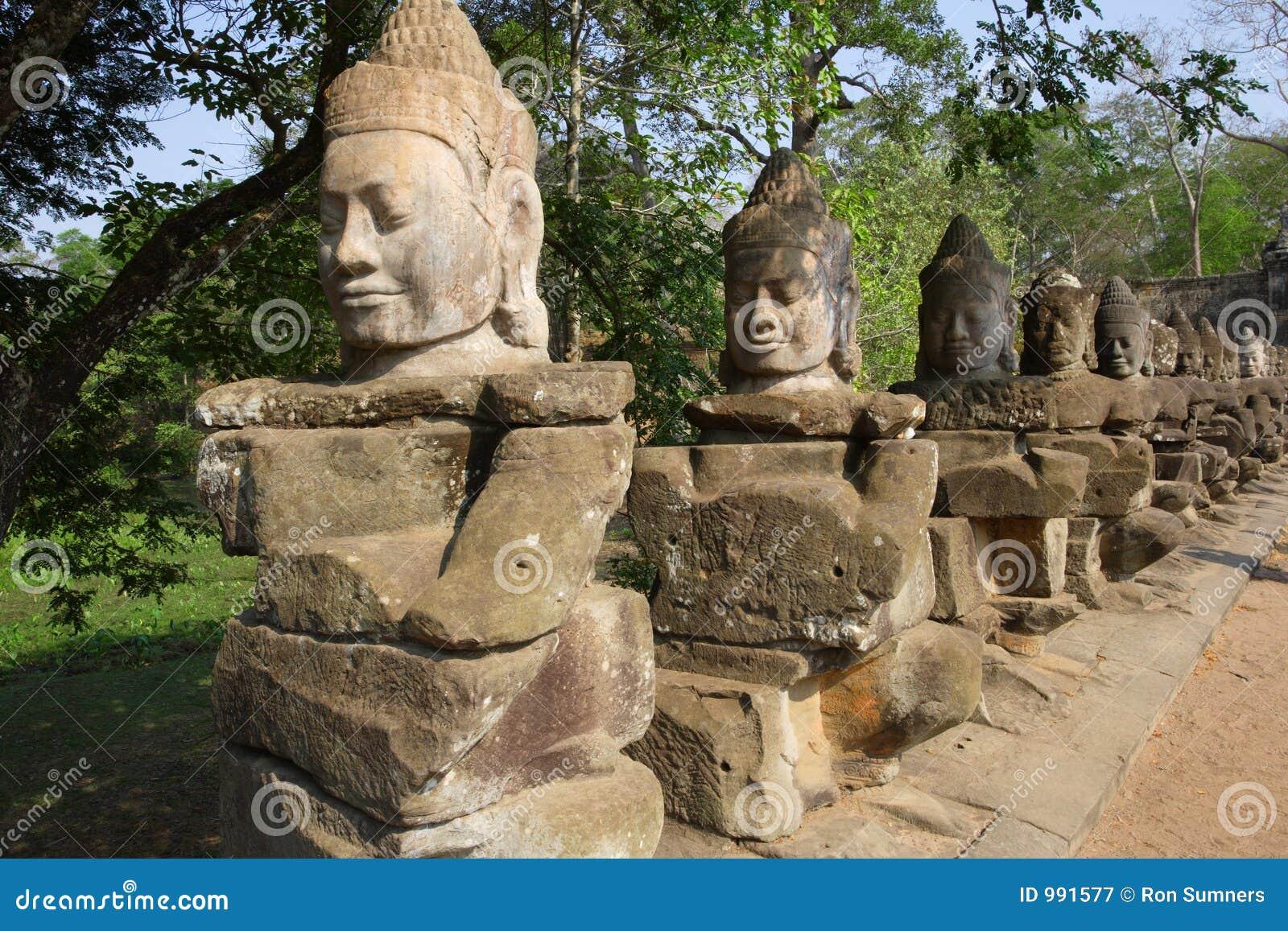 Statues in Cambodia