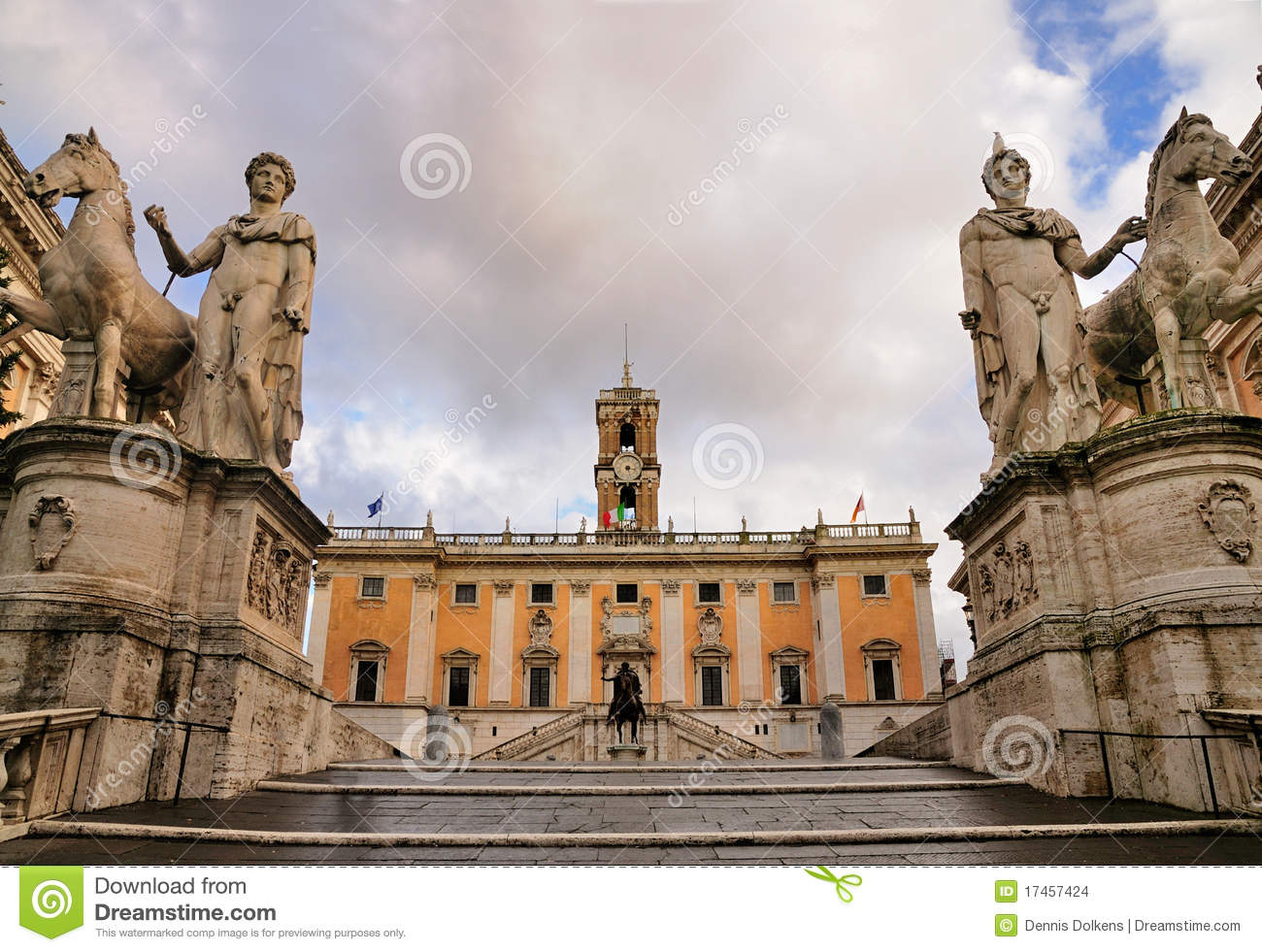 Statues of the Capitol, Rome