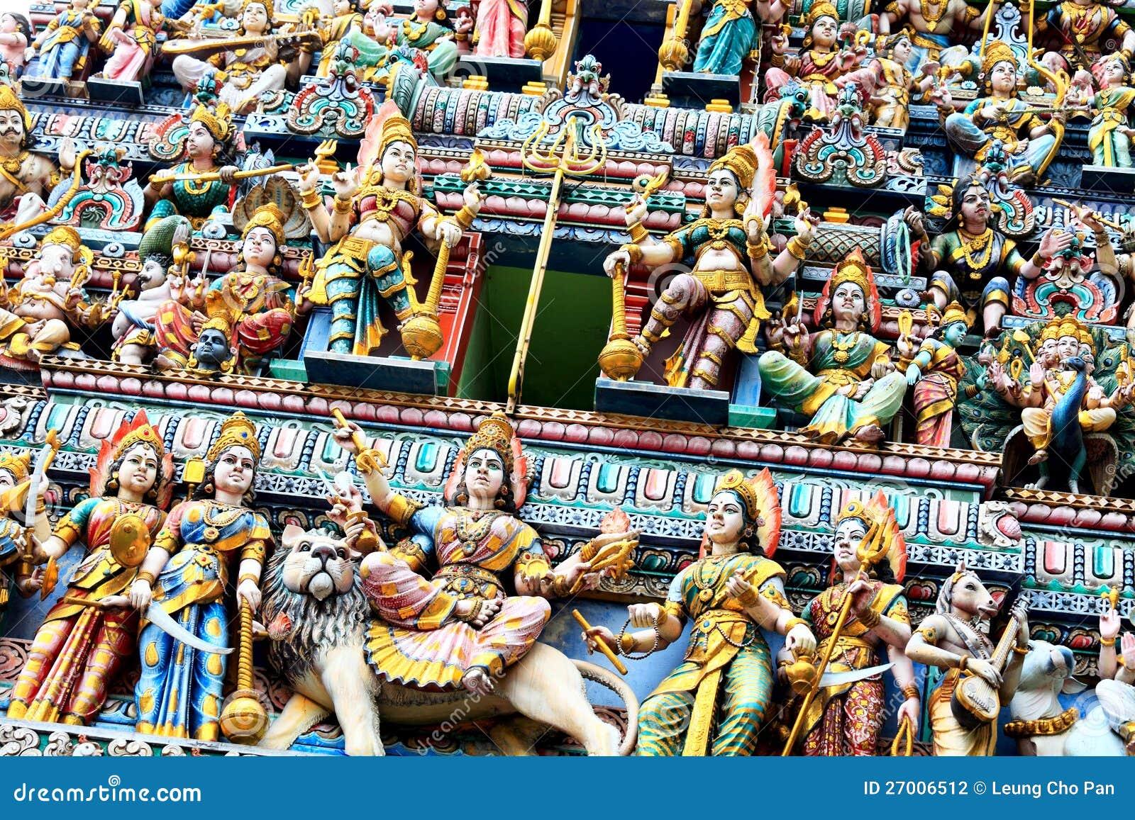 Statues d hindouisme