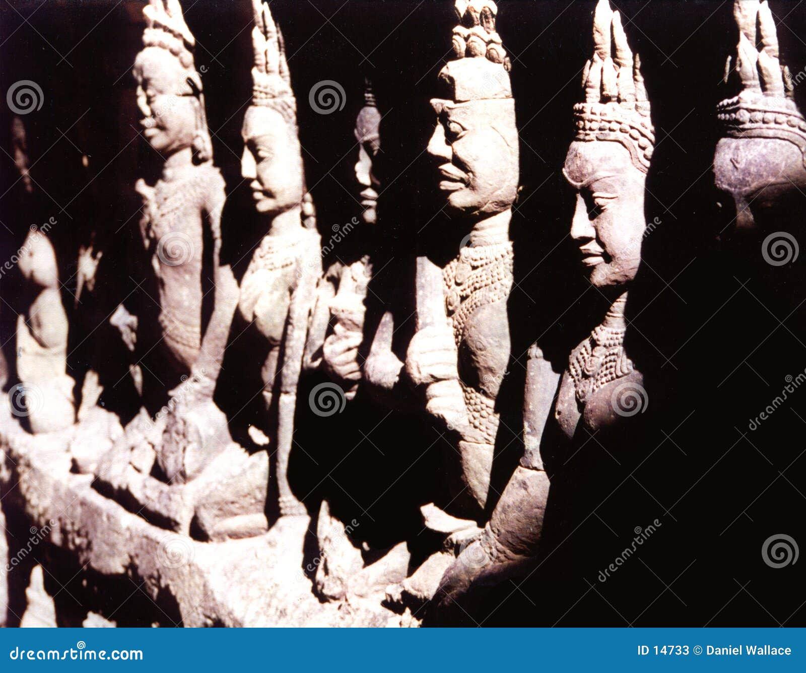 Statues de Buddah