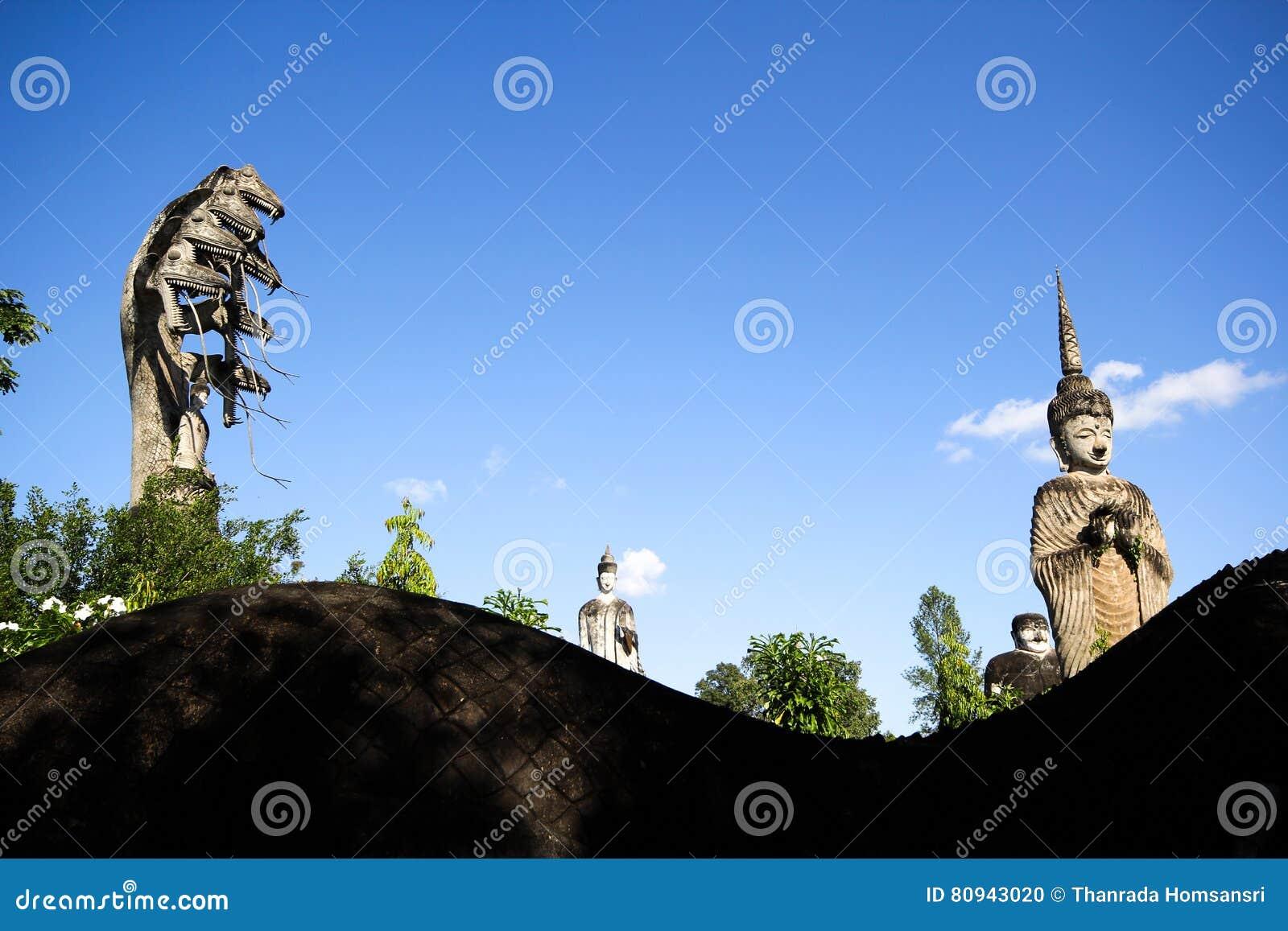 Statues in the Sculpture Park - Nong Khai, Thailand
