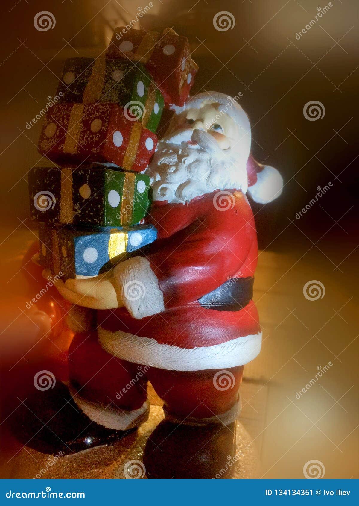 Statuetta del Babbo Natale